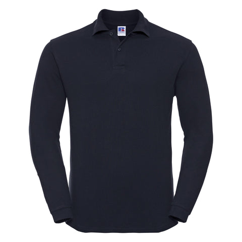 Russell Long sleeve classic cotton polo