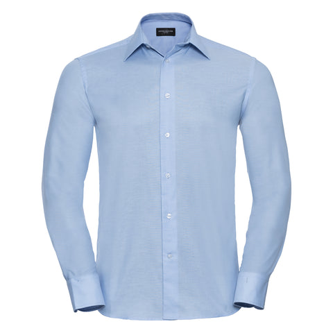 Russell Long sleeved easycare tailored Oxford shirt
