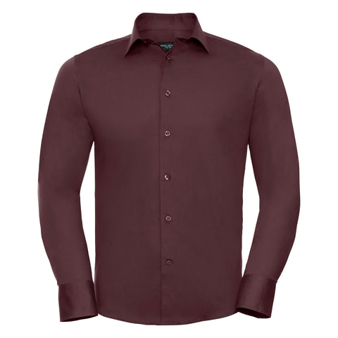 Russell Long sleeve easycare fitted shirt