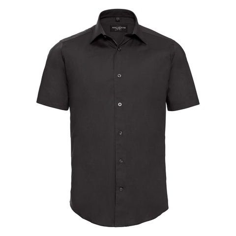 Russell Short sleeve easycare fitted shirt