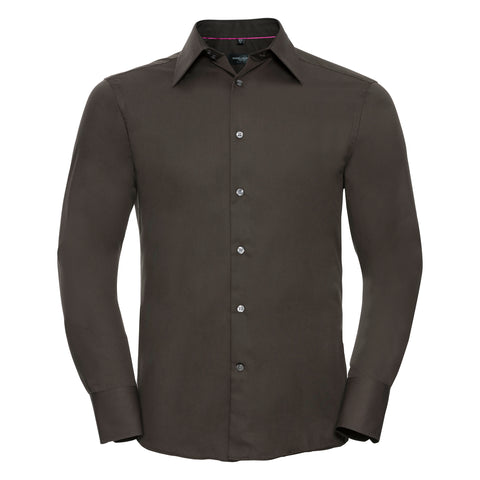 Russell Long sleeve Tencel® fitted shirt