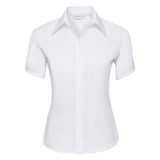 Women's short sleeve ultimate non-iron shirt