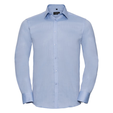 Russell Long sleeve herringbone shirt