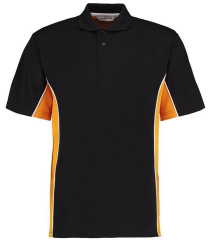 Gamegear Gamegear© track polo in Black/ Gold/ White* - 121 Workwear - Personalised Workwear