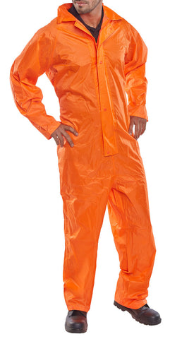 Nylon B-Dri Coverall Orange