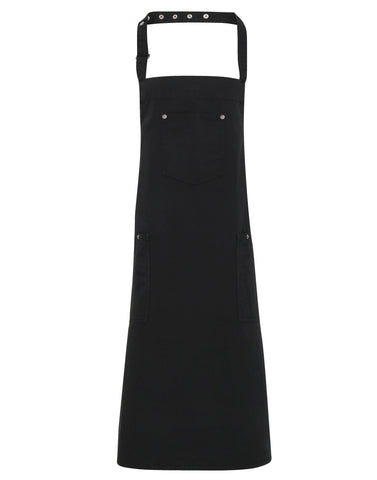 Premier Chino cotton bib apron