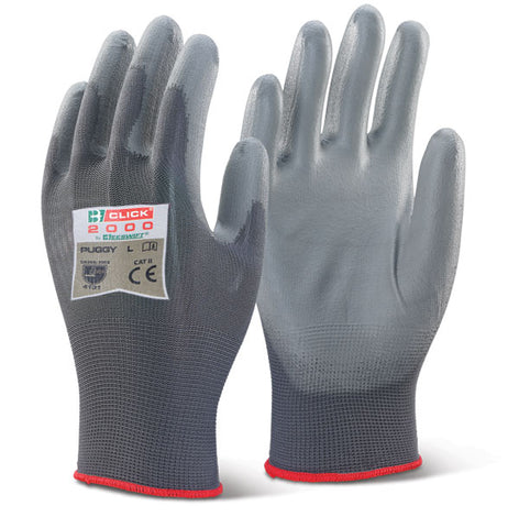 Pu Coated Glove Grey