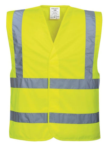 Portwest Hi-vis two band and brace vest in  - 121 Workwear - Personalised Workwear