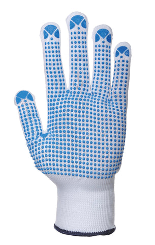 Portwest Nylon polka dot glove (A110)