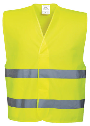 Portwest Hi-vis two-band vest (C474)
