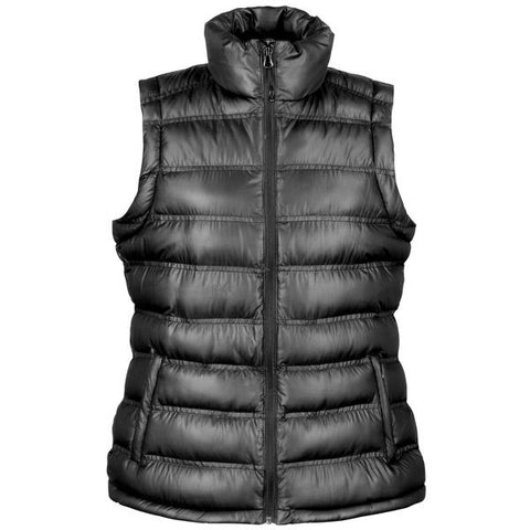 Result Urban Outdoor Women's ice bird padded gilet in Black - 121 Workwear - Personalised Workwear