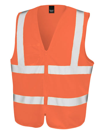 Result Core safety zip tabard
