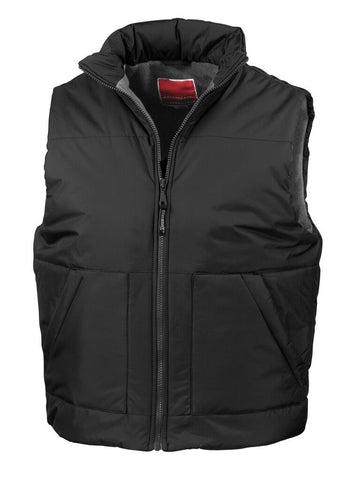 Result Fleece-lined bodywarmer