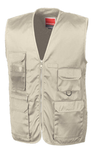 Result Adventure safari waistcoat