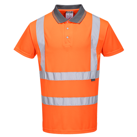 Portwest Hi-Vis S/S Polo Shirt RIS