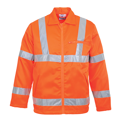 Portwest Hi-Vis Polycotton Jacket RIS