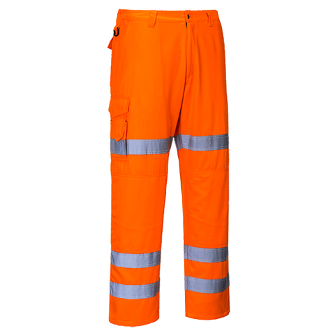 Portwest Hi-Vis 3-Band Combat Trousers