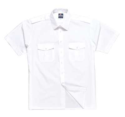 Portwest Pilot Shirt Short Sleeve