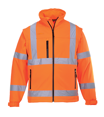 Portwest Hi-Vis Softshell Jacket
