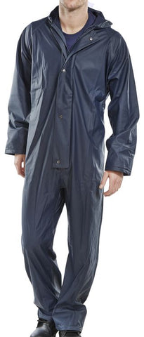 Super B-Dri Coverall Navy