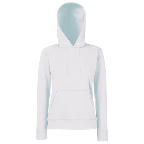 Fruit Of The Loom Classic 80/20 lady-fit hooded sweatshirt