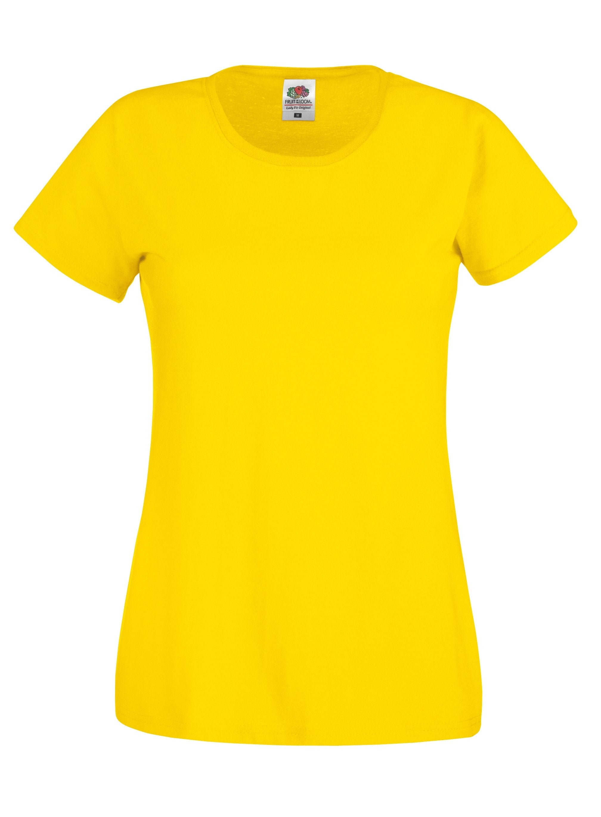 9fb0991c1 Branded Fruit Of The Loom Lady-fit original T | 121 Workwear