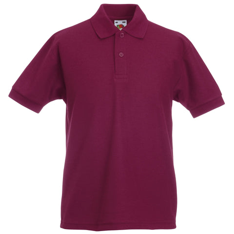Fruit Of The Loom Kids 65/35 pique polo