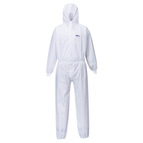 Portwest SMS Knit Cuff Coverall  (50pc)