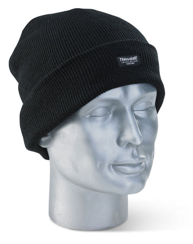 Thinsulate Beenie Hat Black