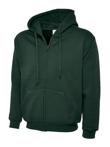 UC504 - 300GSM Adults Classic Full Zip Hooded Sweatshirt