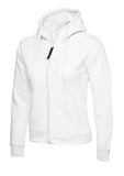 UC505 - 300GSM Ladies Classic Full Zip Hooded Sweatshirt