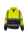 Hi-vis two-tone bomber jacket (HVP218)