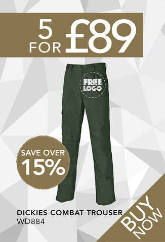 5 for £89 - Dickies Combat Trousers