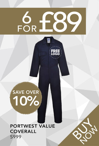 6 for £89 - Portwest Value Coverall