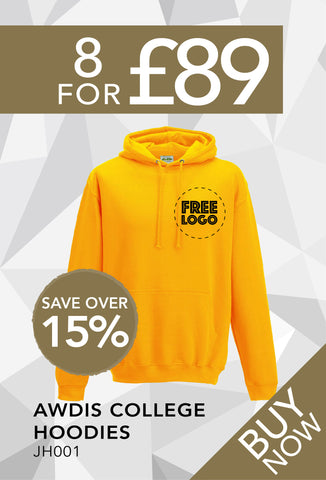 8 for £89 - Awdis College Hoodie