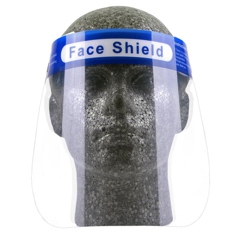 PROTECTIVE FACE SHIELD CLEAR (Pack of 10)