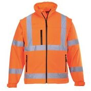 Portwest Hi-vis softshell jacket (3L) (S428)