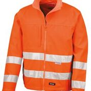 Result High-viz softshell jacket