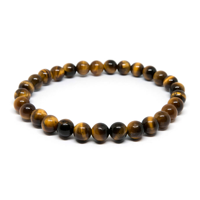 Yellow Tiger Eye - 6mm