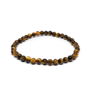 Yellow Tiger Eye - 4mm