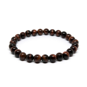 Red Tiger Eye - 6mm