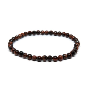Red Tiger Eye - 4mm