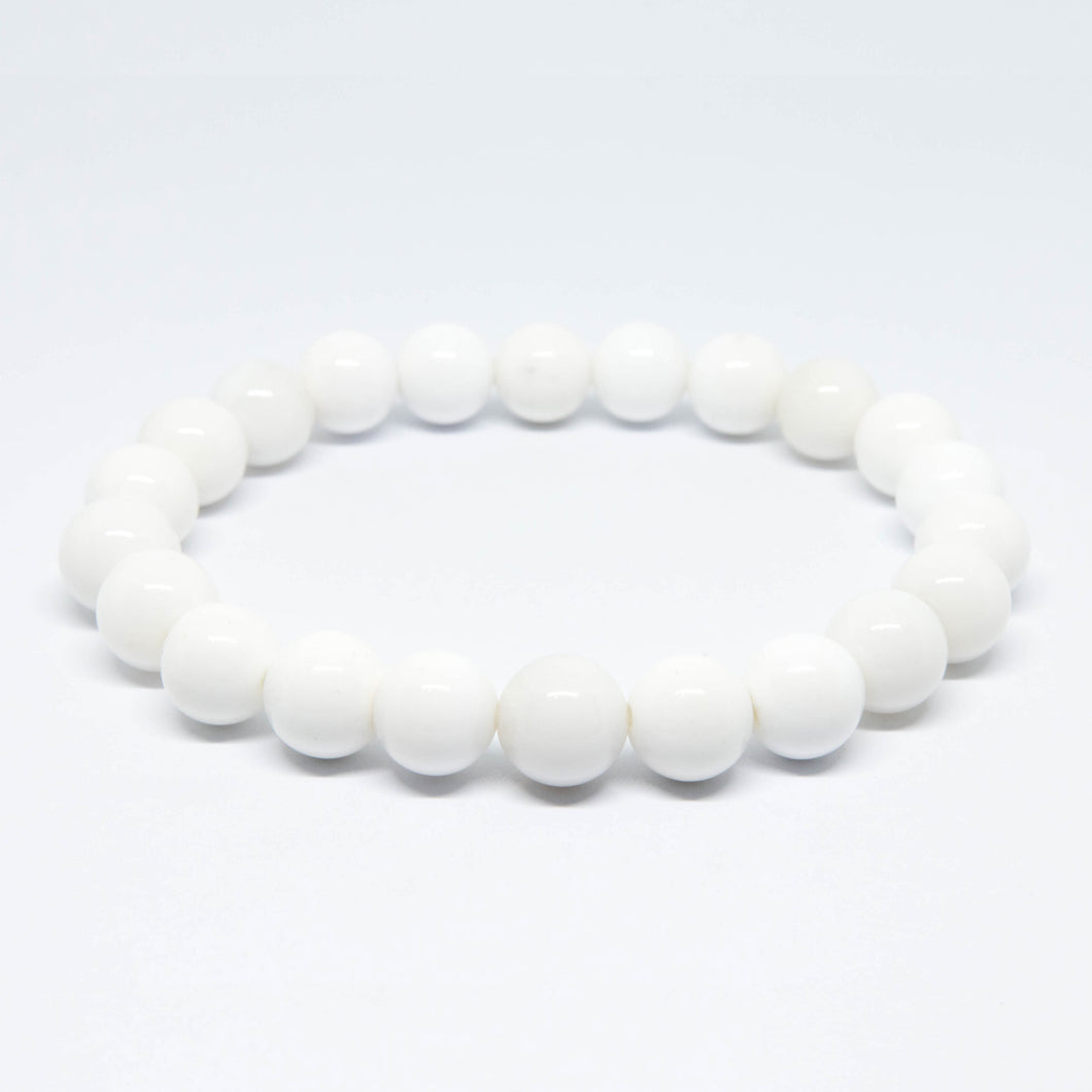 White Agate - 8mm