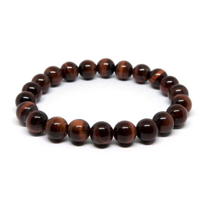 Red Tiger Eye - 8mm