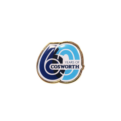Cosworth 60th Anniversary Pin Badge