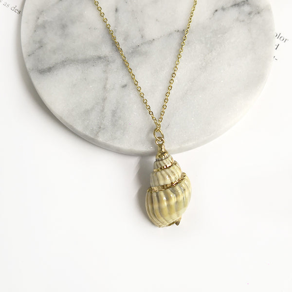 Bohemia Cowrie Shell Necklace