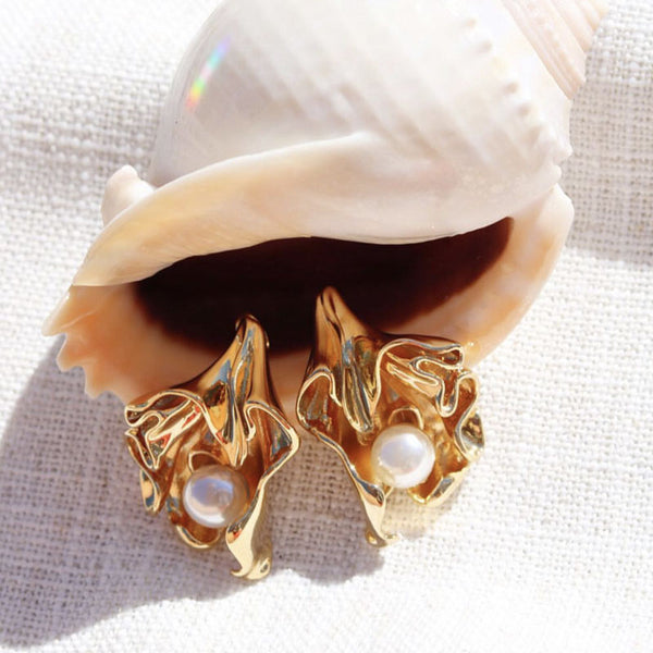 Gold Flora Wonderland Earrings