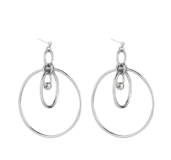 Multi Hoop Statement Earrings