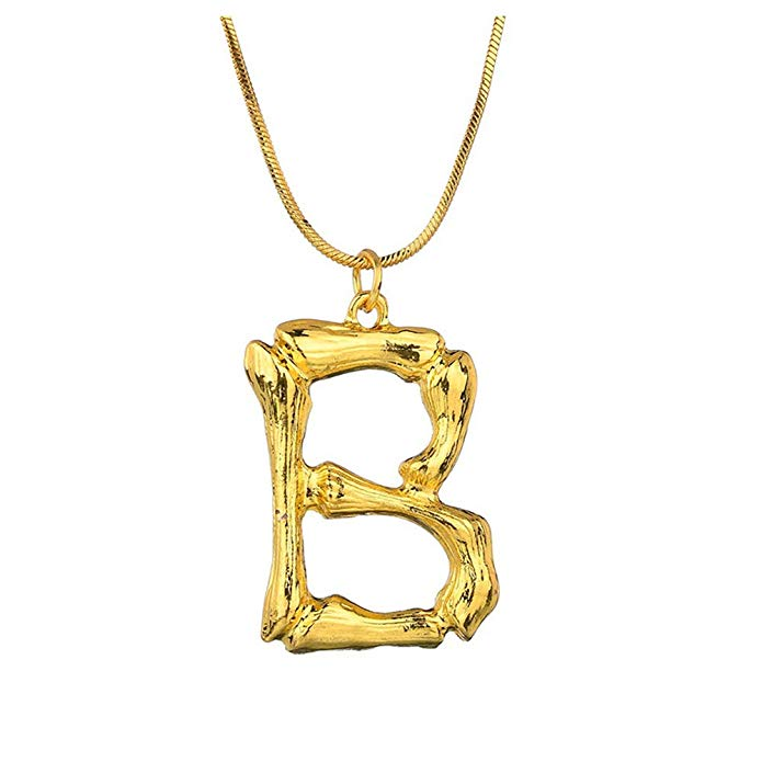 A-Z Small Alphabet Letter Necklace