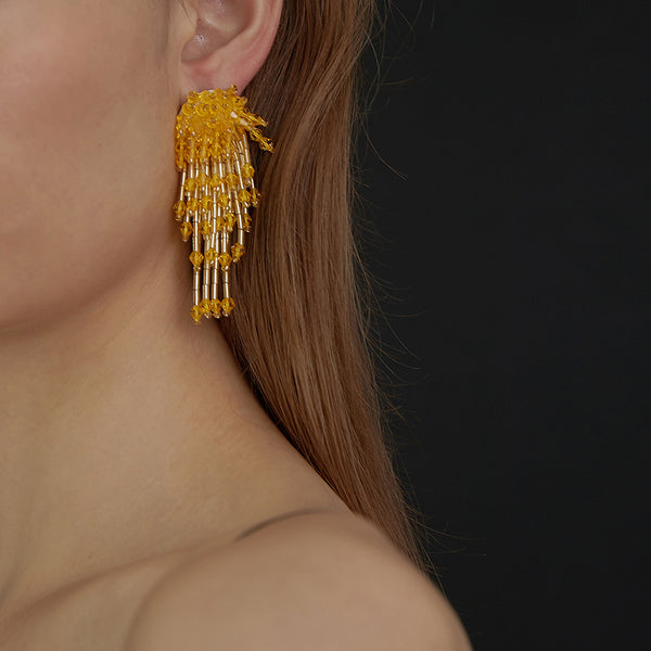 Vintage Jellyfish Earrings